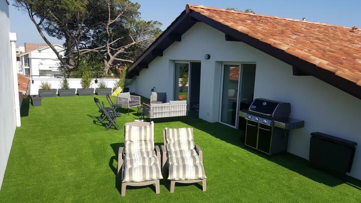 Magnifique appart type penthouse terrasse 100 m2