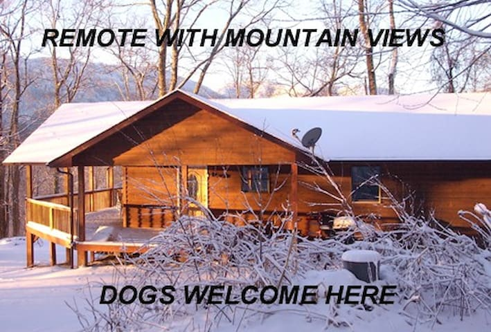 Remote Mountain Million Dollar View - Hot Springs - Bed & Breakfast
