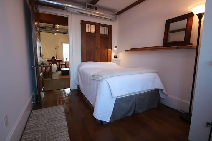 Bedroom 1, Full Sized Mattress
