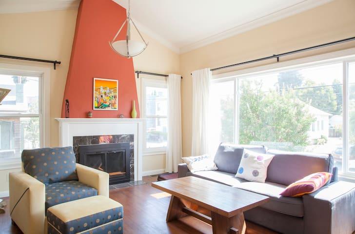 Entire 2 Bdrm Home in North Oakland - Oakland - Casa