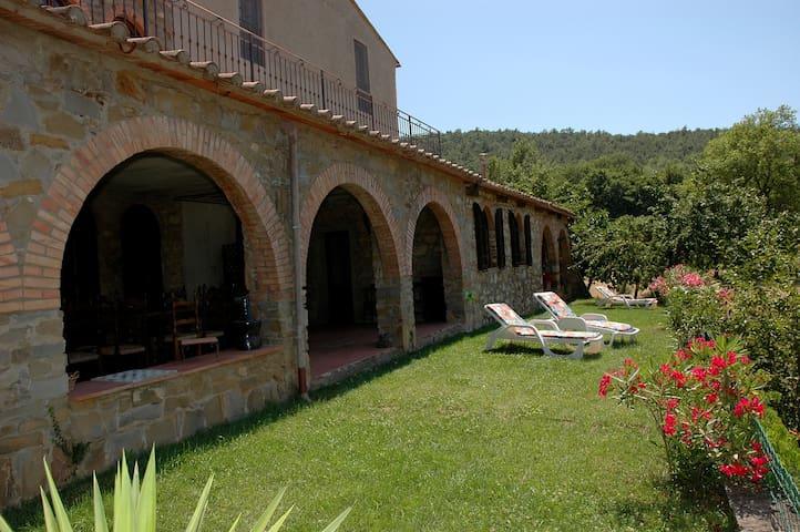 La Villa 1, 8 p. 10 km to the sea - Gavorrano - Daire