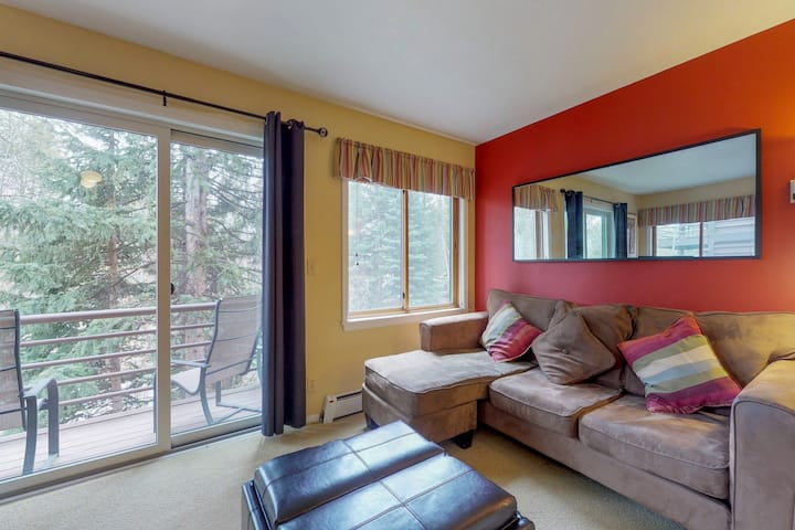 Ski-In/Ski-Out from this Dog-Friendly Condo with Shared Hot Tub & Sauna Access