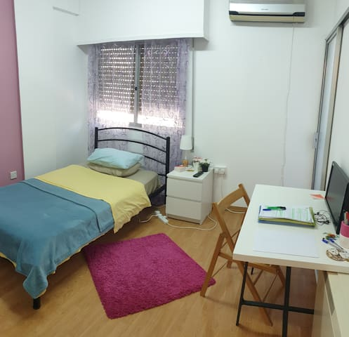 Cozy Bedroom 2 in a Fully Equipped Apt. in Nicosia
