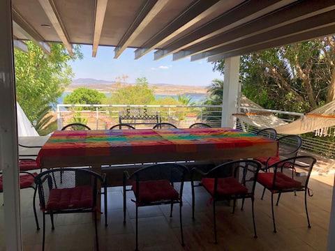 Casa de campo moderna Presa Purisima Guanajuato