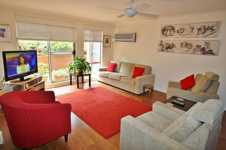 CHATSWOOD 3 BED 2 BATH PARKING APT AIR CON WIFI - Roseville - Apartment