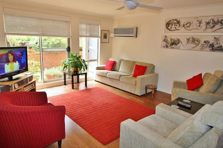 CHATSWOOD 3 BED 2 BATH PARKING APT AIR CON WIFI - Roseville - Lakás