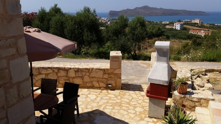Pantanassa Villas - Clio apartment with Sea view