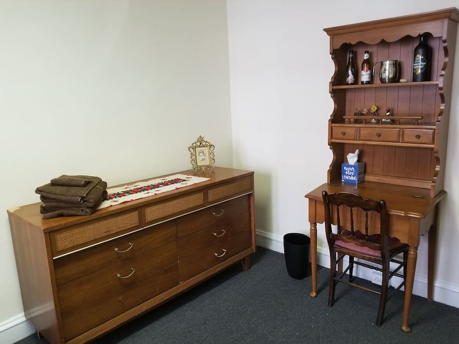 Dresser with small Workspace