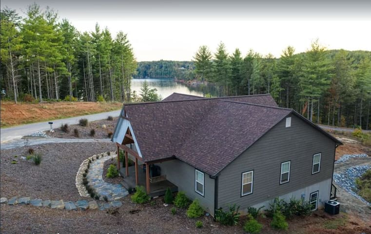 Fisherman Cove at Lake James | Waterfront Home