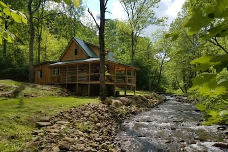 Log Cabin on the River - Stanardsville