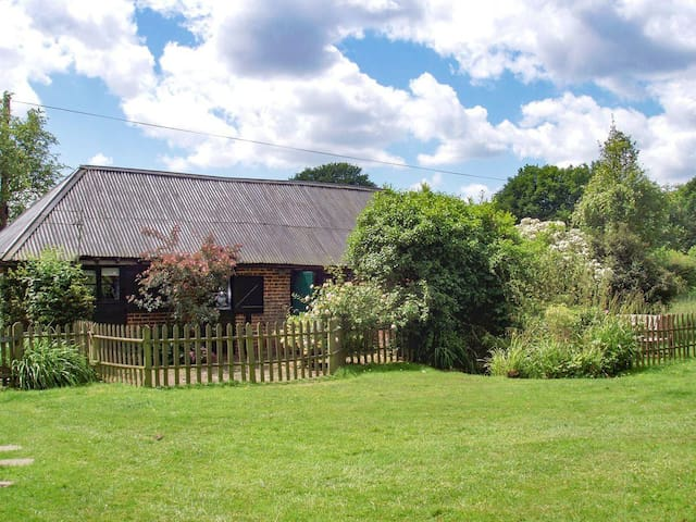 Tranquil grade II listed barn next to windmill