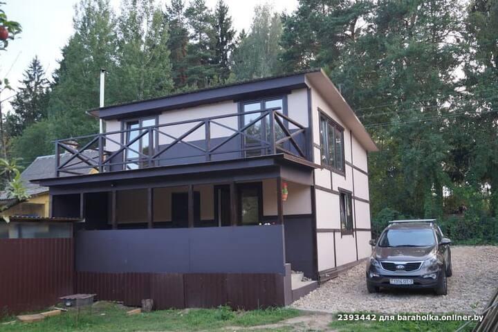 Новый коттедж в 18км от Минска
