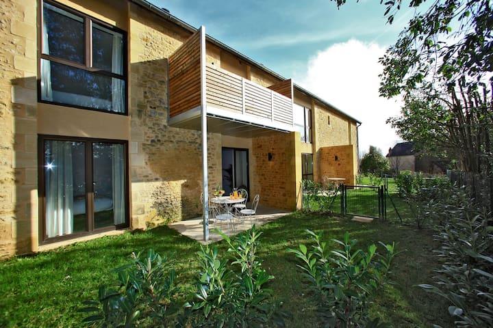 Appartement 2 chambres Deluxe avec terrasse privée - Sarlat-la-Canéda - Apartment