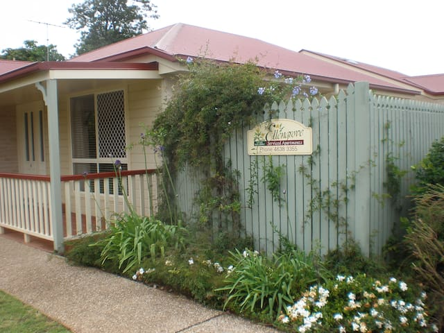 Two bedroom apartment, walk to CBD - South Toowoomba - Lejlighed