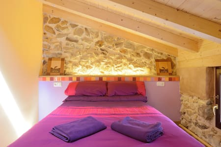 Mountains and city: Double ensuite - House