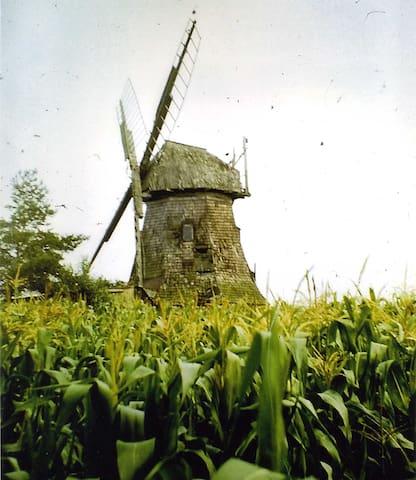 Unsere ehemalige Windmühle -Wiederaufbau geplant!