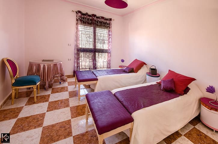 Chambre double à Tlemcen - Oujlida - Bed & Breakfast