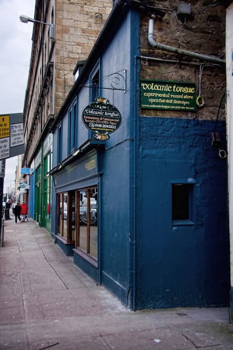 The Finnieston bar/ restaurant, 30 seconds from your front door!