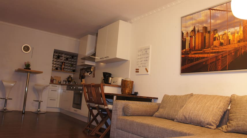 2-room apartment with Skylinesight  - Offenbach - Apartment