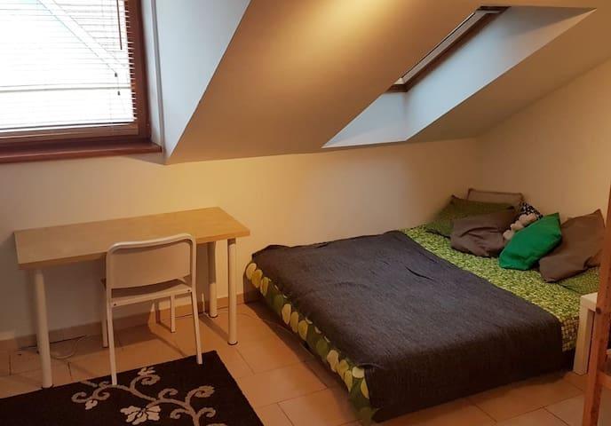 Attic apartment in the center of Bratislava