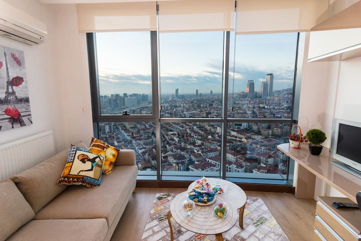 Amazing  İstanbul View-High Floor  -Secured