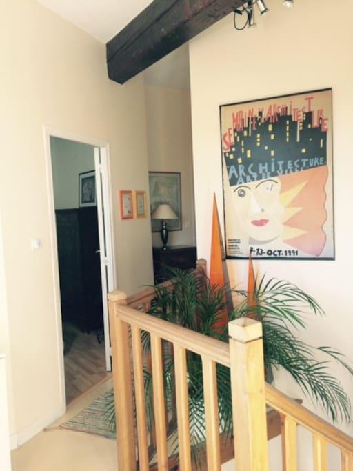 Palier chambre Picasso