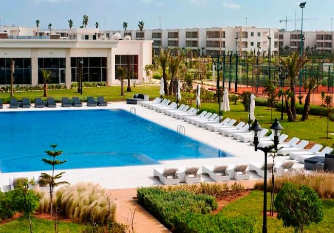 Ferienwohnung/App. für 4 Gäste mit 80m² in Sidi Rahal Route Azemmour, Région Casablanca Maroc (122134)