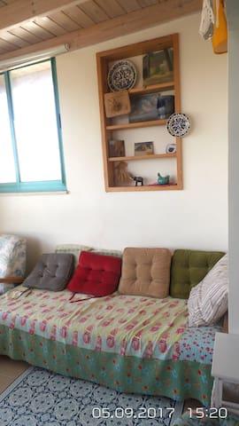 Quiet apartment in:KIBUTZ  HARDUF
