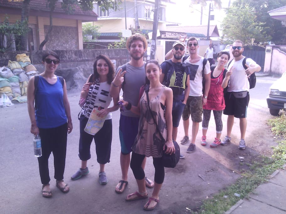 italian group who stayed with us for new year 2017