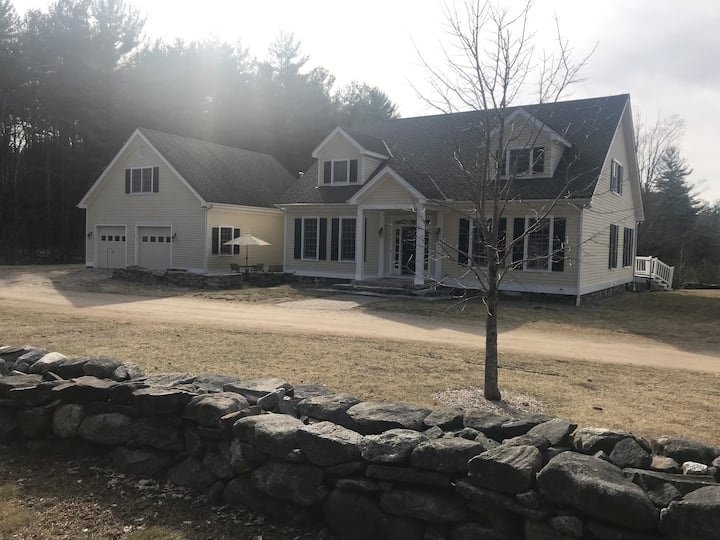 Beautiful Spacious Berkshire Retreat on 80 acres