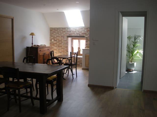 Appartement dans domaine 5mn du PAL - Montbeugny - Apartment