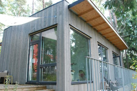 Design studio in garden, West Espoo - 에스포