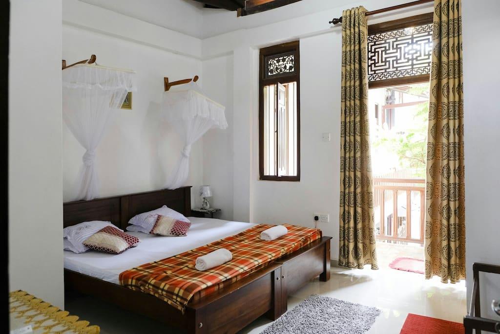 bed room1 - trwin or double room