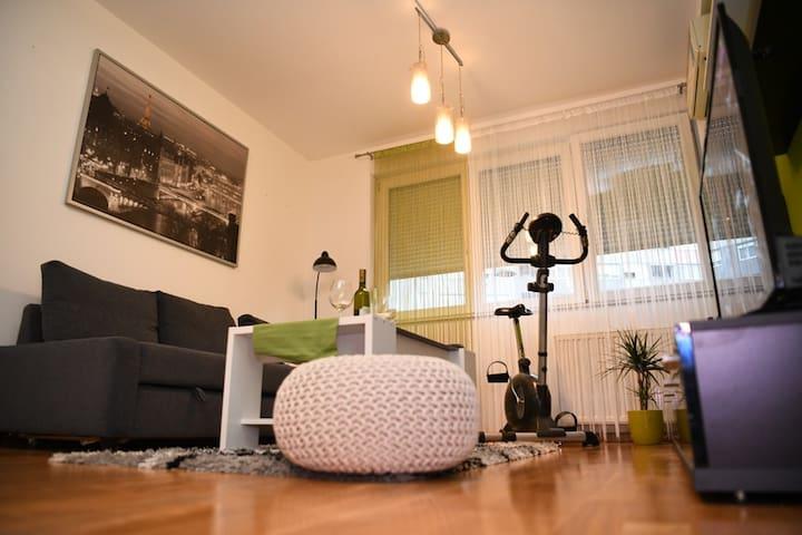 Oaza Green - Arena Zagreb Apartman