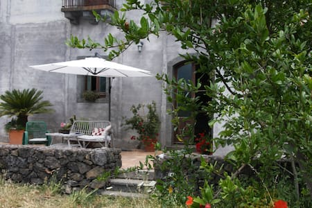 Palmento Etna-Taormina:wine passion - Appartement