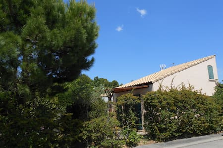 Maison dans résidence avec piscine - La Franqui