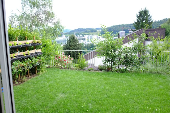 Studio apartment with garden - Baden - Daire