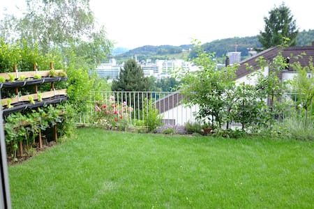 Studio apartment with garden - Baden - Flat