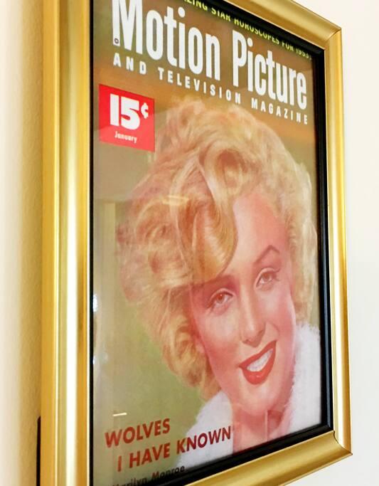 Be a star like Marilyn