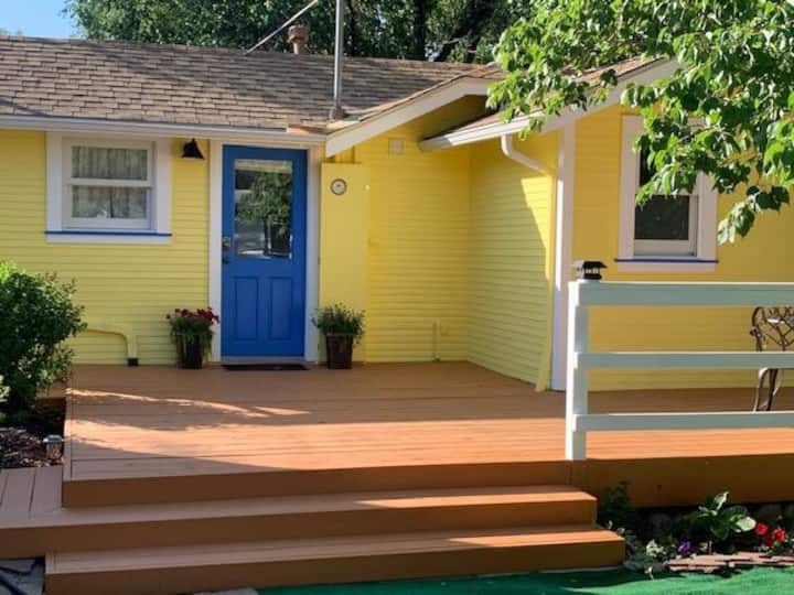 The Cozy Yellow Cottage