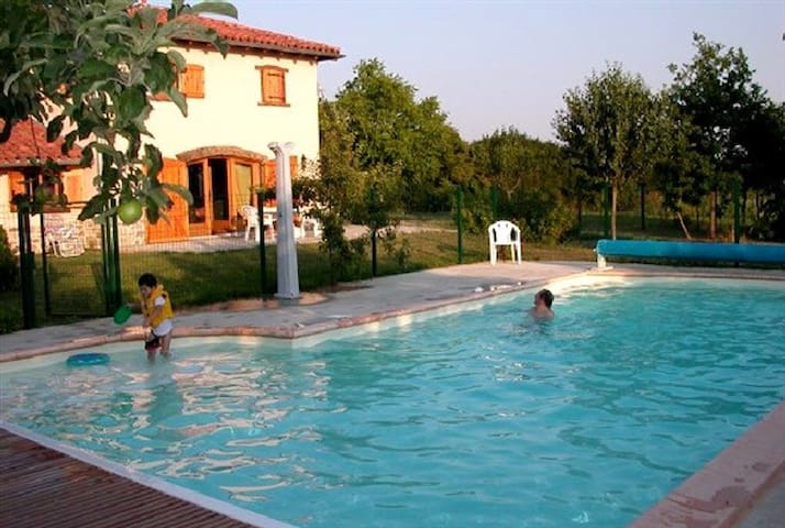 Charming House with Pool and Garden - Bellegarde-en-Forez - Talo