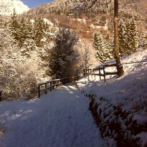 La casa in montagna - Ossimo Superiore