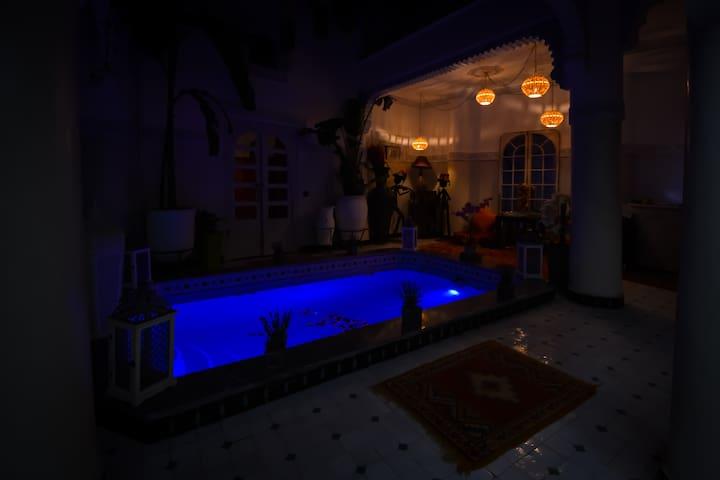 Reel intimité Riad Eloise