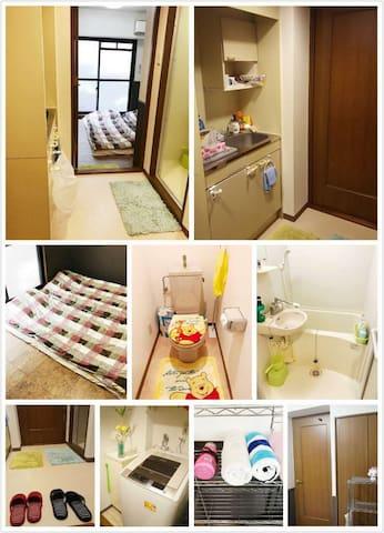 NB1*6min walk Namba/3min dotonbori! Best location - Chuo Ward, Osaka - Bed & Breakfast