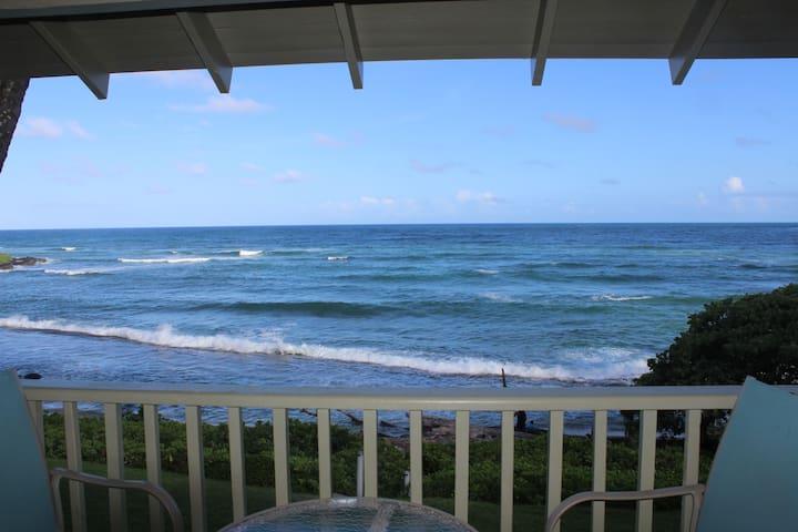 Ocean, Pool, Full Kitchen, KING bed, Wifi, Lanai