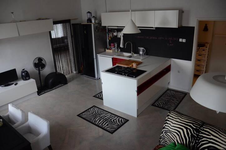 Yogahouse flat with charackter - Ljubljana - Leilighet