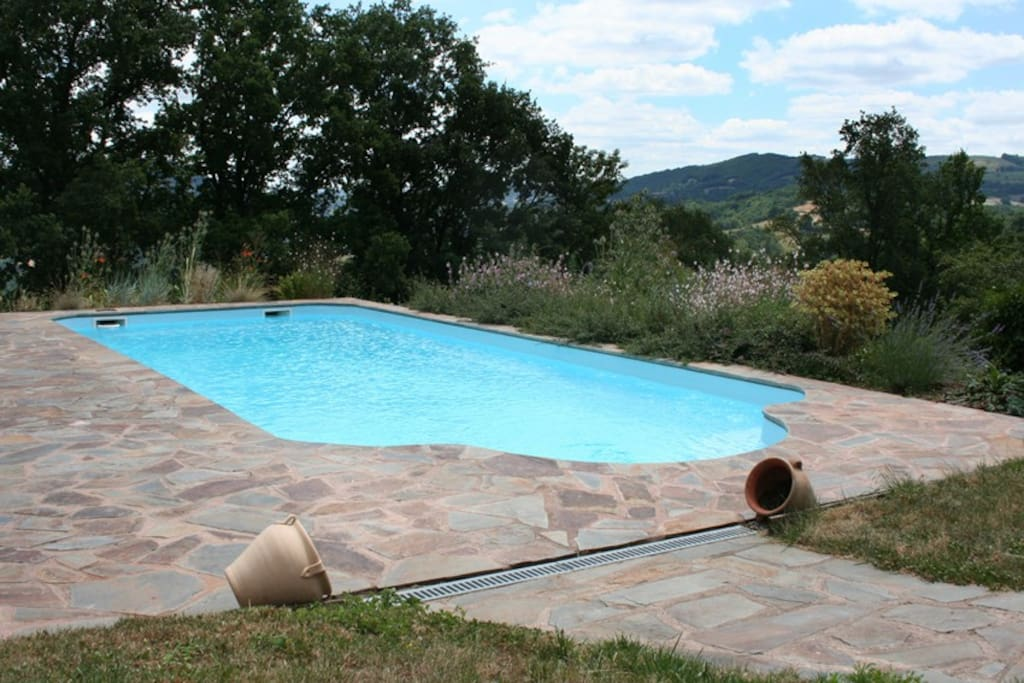 Swimming pool with panoramic views