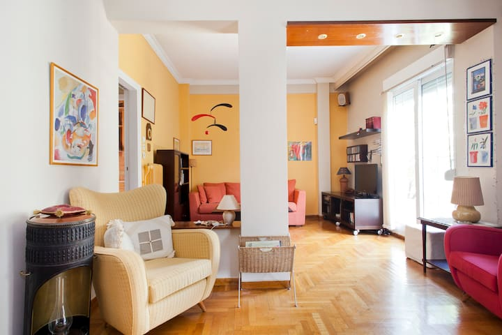 Penthouse located in central Athens - Aten - Lägenhet