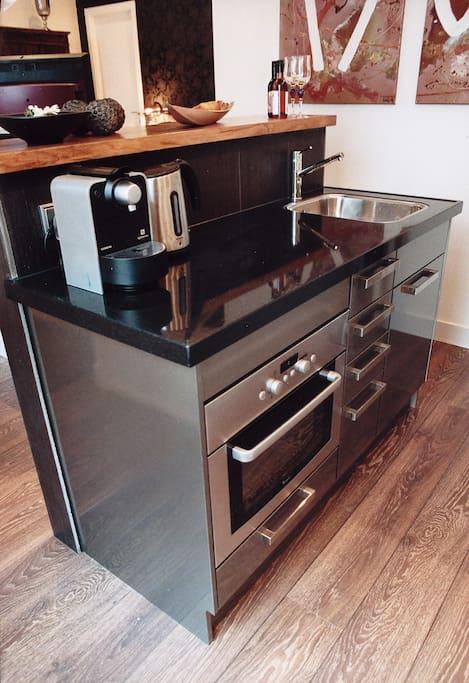Kamer 1, kitchenette