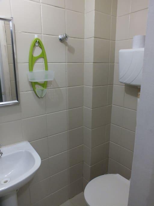 Your bathroom / Tu cuarto de baño / Seu banheiro / Dein Badezimmer / Ta salle de bains / Jouw badkamer.